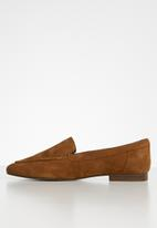 ALDO - Joeya suede loafer - tan