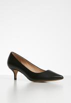 ALDO - Sieriaflex leather court - black