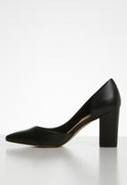 ALDO - Raerka leather court - black