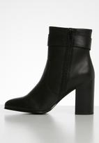 ALDO - Seveiria leather boot - black