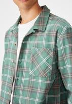 Factorie - Flanno shirt - green