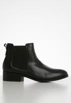 ALDO - Eraylia leather boot - black