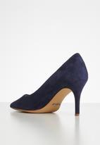 ALDO - Coroniti suede court - blue