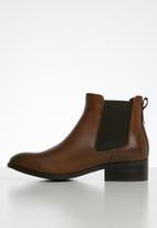 ALDO - Eraylia leather boot - brown