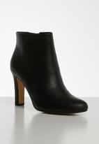 ALDO - Isirere leather boot - black