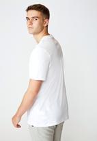 Factorie - New York regular graphic T-shirt - white