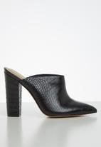 ALDO - Nichy leather heel - black