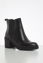 ALDO - Brerravia leather boot - black