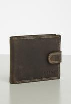 BOSSI - Leather hunsbt - brown