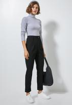 Superbalist - Tapered trousers - black