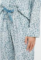 Superbalist - Sleep shirt & pants set - blue