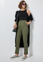 Superbalist - Tapered trousers - khaki