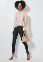 Superbalist - Double layer hi lo blouse - light pink