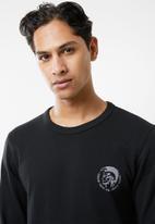 Diesel  - Umlt-willy sweatshirt - black