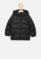 Cotton On - Frankie puffer jacket - black