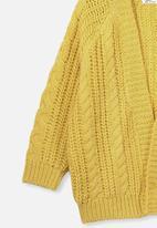 Cotton On - Cooper cardigan - yellow