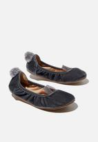 Cotton On - Primo ballet flat - grey