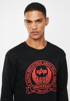 Alpha Industries - Anniversary sweater - black