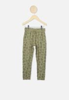 Cotton On - Keira cuff pant - green