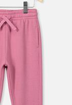 Cotton On - Keira cuff pant - berry