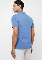 Levi's® - Housemark patch polo - blue