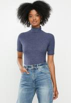 G-Star RAW - Melam slim bodysuit - blue