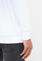 Diesel  - S-gir division logo sweater - white