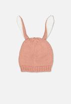Cotton On - Fashion beanie - pink & white