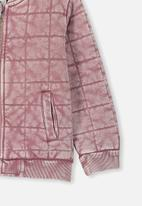 Cotton On - Quilted bomber jacket - pink