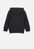 Cotton On - Horizon hoodie - black