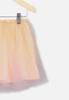 Cotton On - Trixiebelle tulle skirt - peach