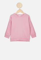 Cotton On - Sally slouch crew - pink