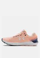 Under Armour - Charged rogue 2 - peach frost / white / halo gray