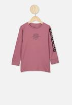 Cotton On - Tom long sleeve tee - pink