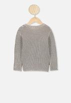 Cotton On - Blake knit - brown