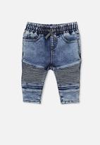 Cotton On - Carter moto jeans - blue