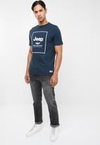 JEEP - Boxx short sleeve tee - navy