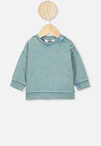 Cotton On - Enzo drop shoulder top - aqua dream