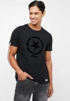JEEP - Star short sleeve tee - black