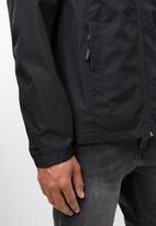 JEEP - Hooded transition jacket - black