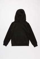 Nike - Nike futura fleece hoodie - black