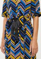 Jacqueline de Yong - Alexa belted dress - multi