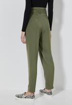 Superbalist - Paperbag trousers -  khaki