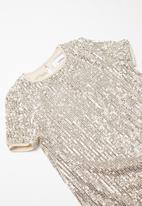 Superbalist - Sequin dress - silver