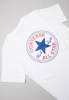 Converse - Converse boys chuck patch tee - white