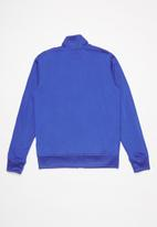 Converse - Converse boys tricot track jacket - blue
