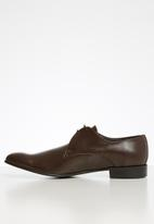 Watson - Leo leather shoe - mocca