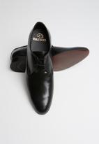 Watson - Leo leather shoe - black