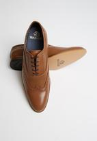 Watson - Leonard leather brogue - tan