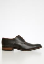 Watson - Adam two tone derby - black
